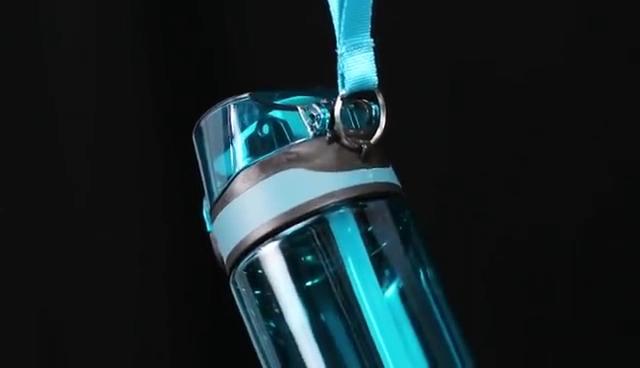 맞춤형 휴대용 야외 스포츠 병 투명 멋진 플라스틱 물병