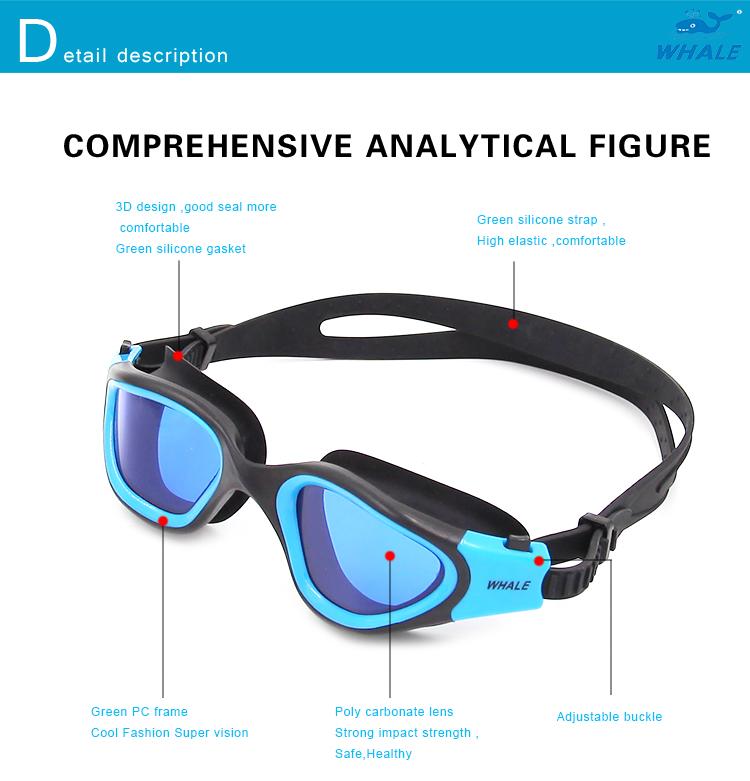 comfortable fit swim eyeglasses