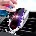 R2 10W wireless fast car charger emergency charging mobile phone holder comes with type C interface for XIAOMI IPHONE Samsung