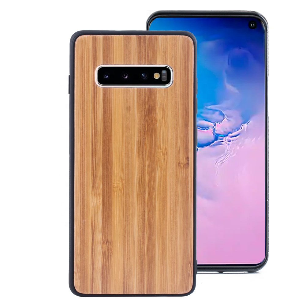 2019 Bamboo Wood Phone <strong>Case</strong> for Samsung galaxy s10e s10plus Note8 Note 9 soft <strong>case</strong> for samsung note 10
