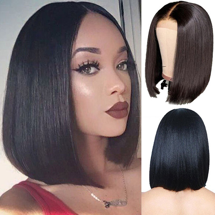 New high fashion human hair <strong>wigs</strong> good quality short women <strong>wigs</strong> black <strong>synthetic</strong> <strong>wigs</strong>