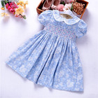 girls flower dresses easter smocked dress fashion boutiques kids frock floral wholesale baby clothes summer 19823546