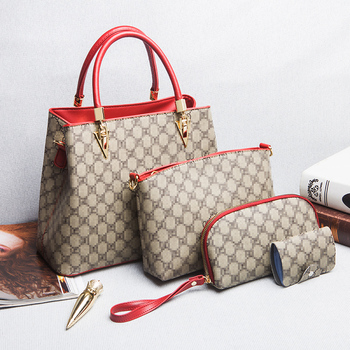 Stylish Luxury Handbags Sets 4 Pieces Bags Women Hand Bags Ladies Hand Bags