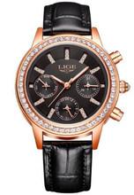 2020 LIGE Лидирующий бренд роскошные женские часы водонепроницаемые Модные женские часы Женские кварцевые наручные часы Relogio Feminino Montre Femme(China)
