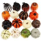 Gresorth Wholesale Fake Pumpkins Artificial Vegetables for Home Party Halloween Christmas MINI Pumpkin Decoration