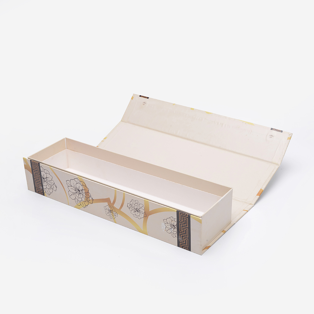 Cheap Price Magnetic Printing Red Wine Folding Fashion Colour Luxury Packaging Cardboard Long Gift Box