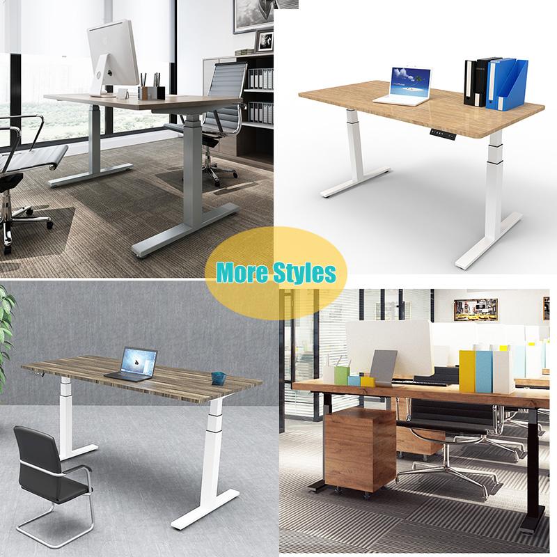 Ergonomic Office Furniture Electric Dual Motor Sit Stand Adjustable Standing Desk