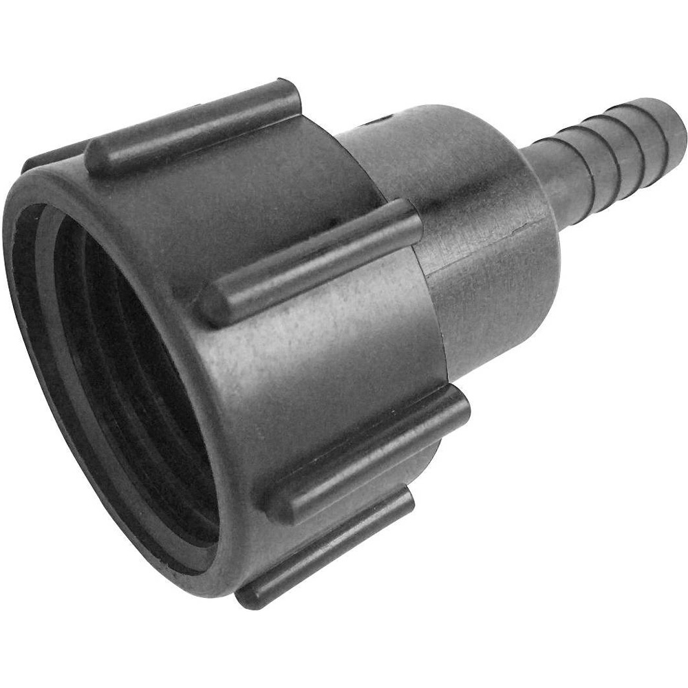 VALVE+OUTLET OPTIONS IBC S60X6 COARSE THREADED ADAPTER//CONNECTOR CAP