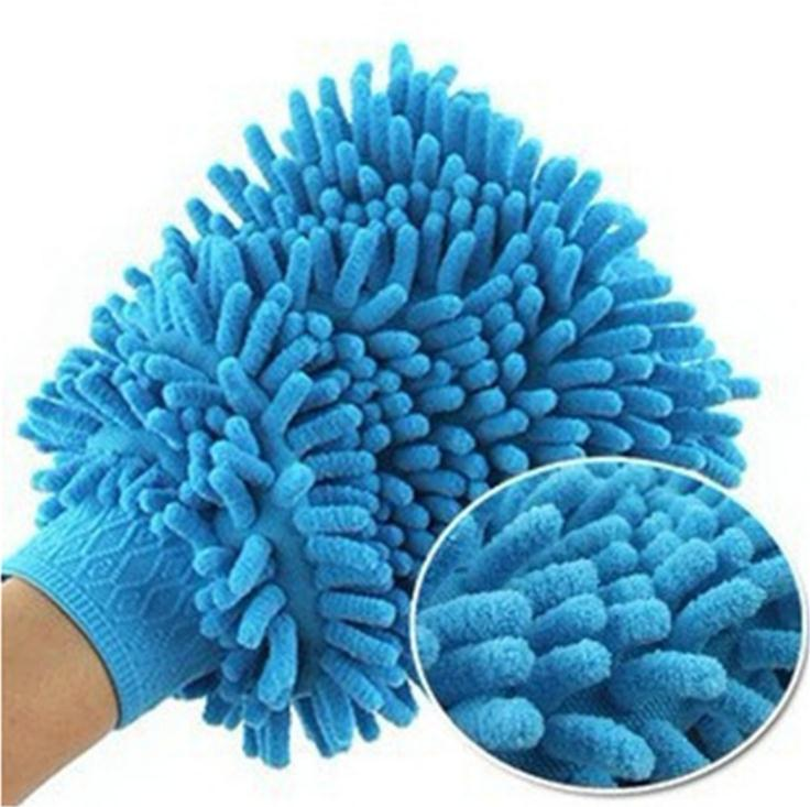 Multipurpose Premium Microfiber Waterproof Glove For Car Washing
