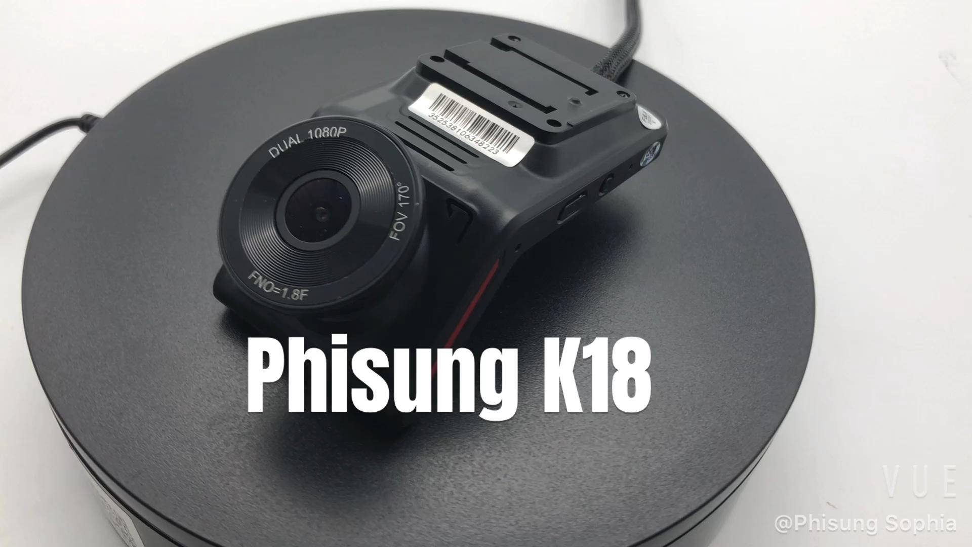 K18N 4G dash camera inside cam HD1080P GPS tracking WIFI cmsv6 for vehicle fleet live video check  night vision 360 degree