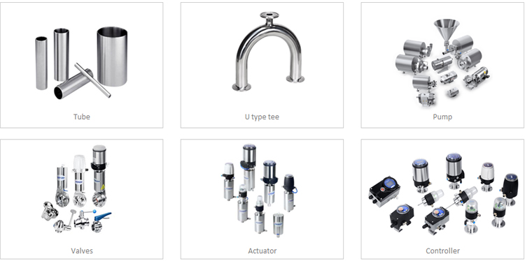 DONJOY IDF stainless steel sanitary union