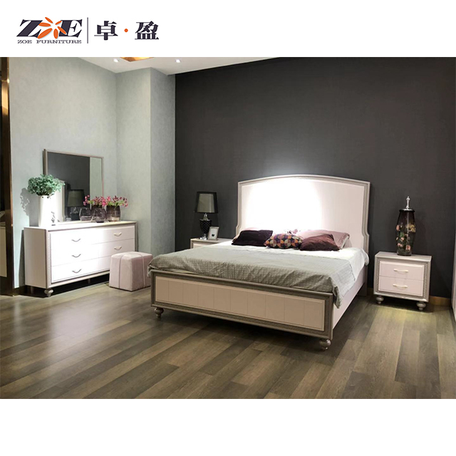 Pakistan Design Wooden Double Bed Designs With Wardrobe High Quality Bedroom Furniture Set View High Qulity Wood Double Bed Designs With Box Zoe Product Details From Foshan Qiaoyi Furniture Co Ltd On