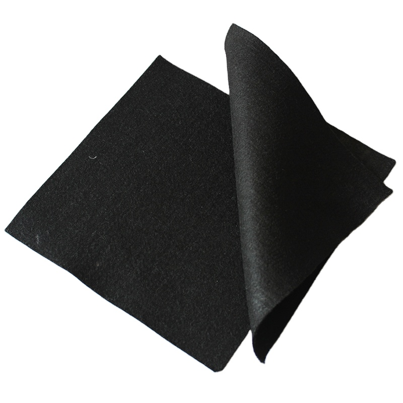 Short <strong>Fabric</strong> <strong>Nonwoven</strong> Needle Punched <strong>Geotextile</strong> Water Filter <strong>Fabric</strong>