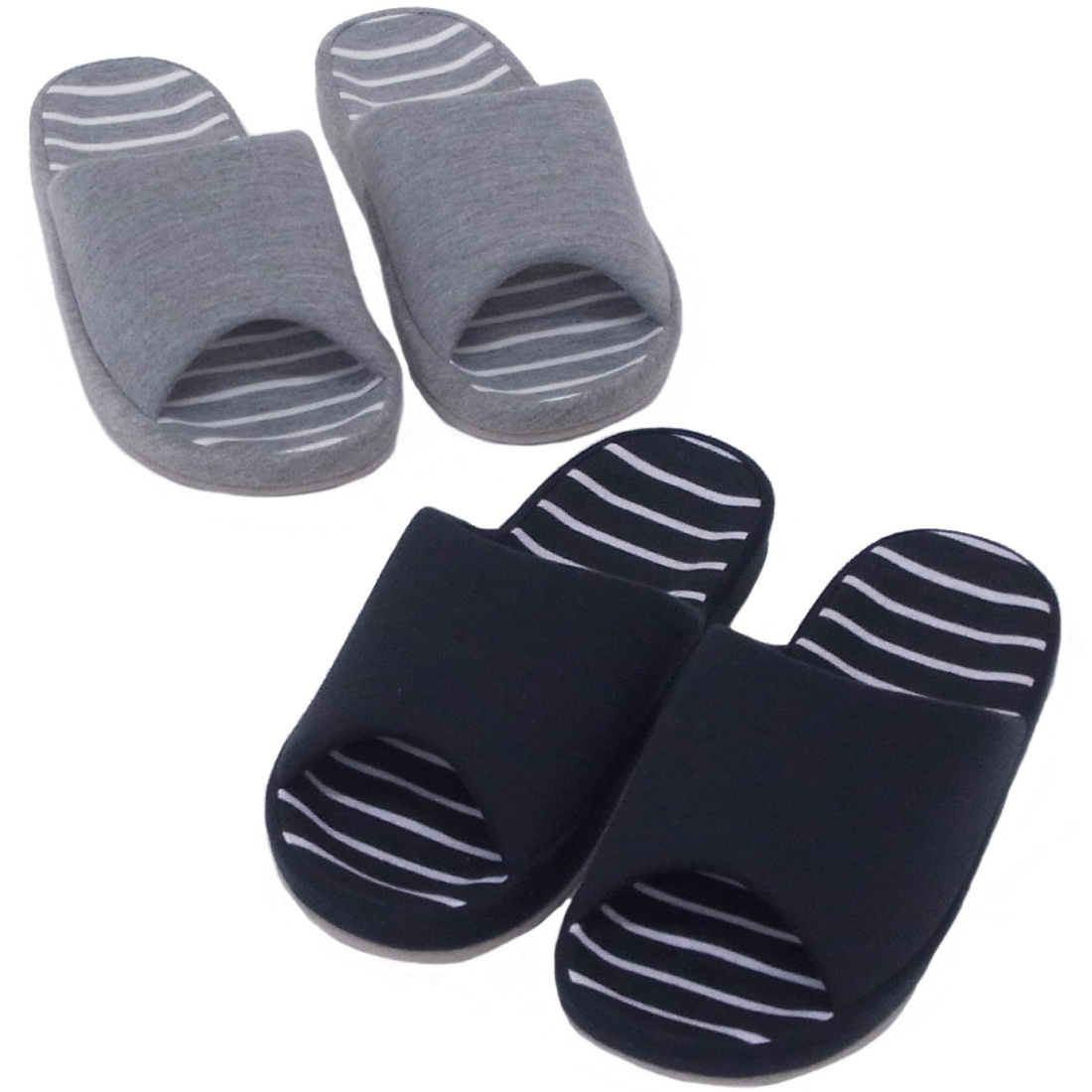 High Quality Indoor Comfort Slippers Made From A Poly-suede
