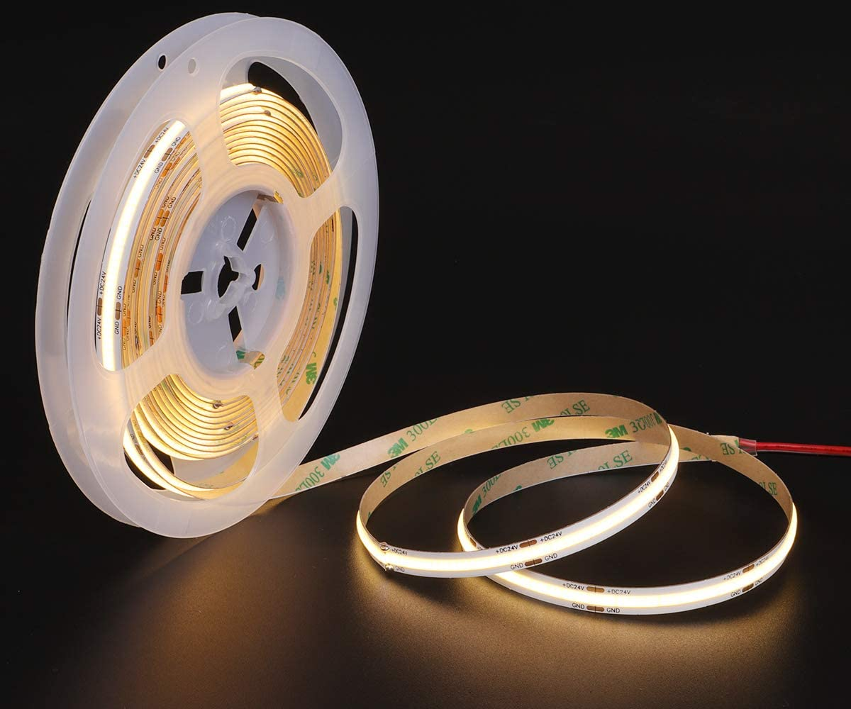 High purchase rate Led room light led back light strip12 V 24V Ip20 Led Strip Light