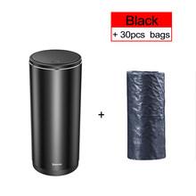 Автомобильный мусорный контейнер Baseus, мини автомобильный пылезащитный Органайзер, автомобильный внутренний мусорный мешок, контейнер для ...(Китай)