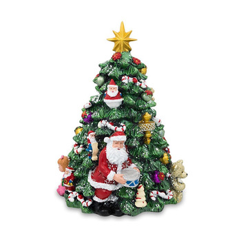 Vintage Ceramic Christmas Tree Tabletop Decorations For Sale With Lights