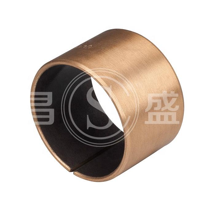 Supply PTFE Steel Composite Metal Bush Wrapped Sleeve DU Bearing Self Lubricating Slide Bushing