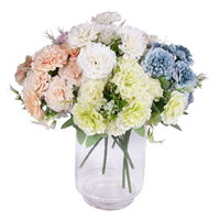 Many Colours New Peony 10 head Artificial Silk Flowers Artificial Flower Bouquet