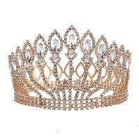 Wholesale Crown Jewelry Beauty Pageant Crowns Crystal Tiara And Crowns Wedding Tiara