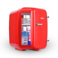 Mini Fridge 5L Electric Cooler And Warmer :AC / DC Portable Thermoelectric System,For Car /Indoor /Outdoor Fridge