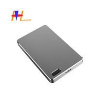 Di impronte digitali portatile Esterno in alluminio di Stoccaggio 2.5 Pollici External Hard Disk Drive adapter enclosure usb 3.0 2.5 hdd box case