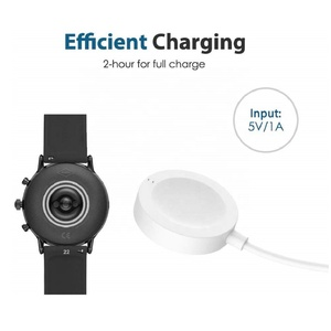 MoKo Magnetic Replacement Charger Dock for Fossil Gen 4/Gen 5/Emporio Armani/Skagen falster 2/Misfit Vapor 2