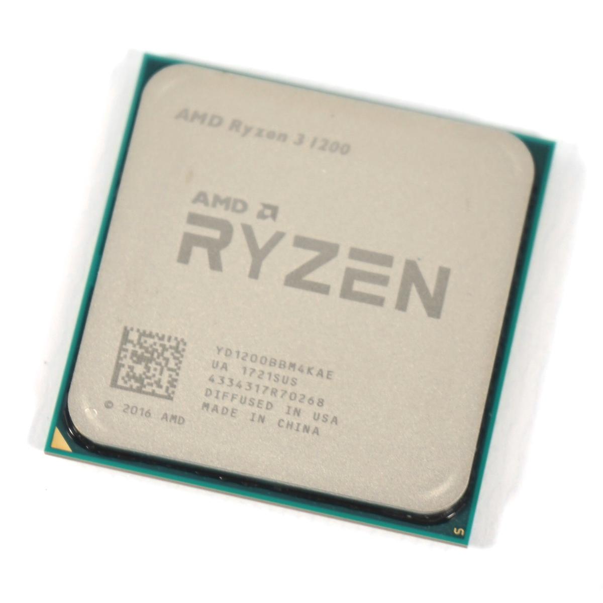 AMD Ryzen 3 1200 R3 1200 3.1 GHz 쿼드 코어 쿼드 스레드 CPU 프로세서 소켓 AM4 데스크탑 Cpu