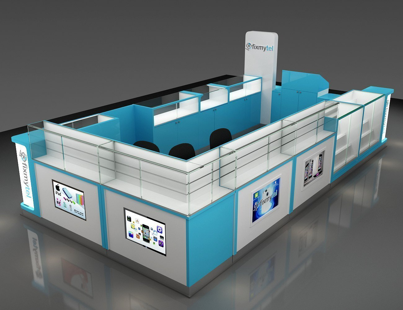 Furniture Design For Mobile Repairing Kiosk Counter Design With Matt Paint View Furniture Design For Mobile Kiosk Yuantai Furniture Product Details From Sz Yuan Tai Whole Furniture Production Co Ltd On Alibaba Com