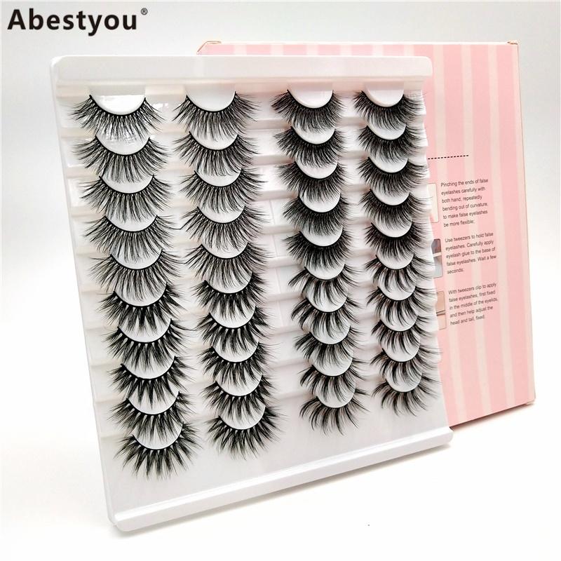 Abestyou 14 pairs false eyelashes