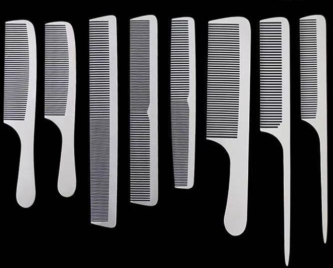 <strong>Hair</strong> Barber Tools <strong>Steel</strong> <strong>Combs</strong> Metal Toothbrush Antistatic Flathead <strong>Comb</strong>