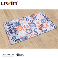 UWIN New PVC Standing Anti Fatigue Kitchen Floor Kitchen Mats Cushioned