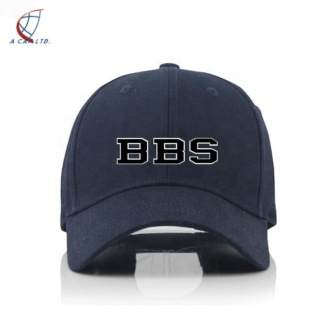 OEM कस्टम कढ़ाई यूनिसेक्स कपास बेसबॉल खेल टोपियां टोपी निर्माता थोक काले रनिंग टोपी