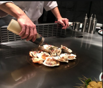 Restaurant Used Commercial Teppanyaki Grill on Sale