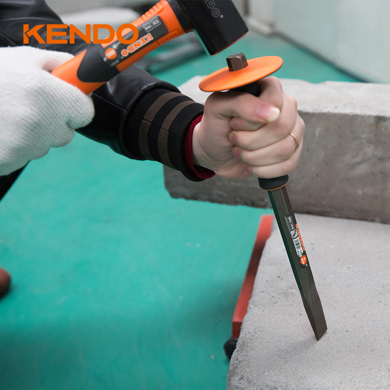 KENDO Hexagonal shaft Cold Flat Chisel