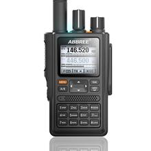 ABBREE AR-F8 1,77 LCD 999CH GPS High Power Alle Bands(136-520MHz) frequenz/CTCSS Erkennung Long Range Walkie Talkie Radios