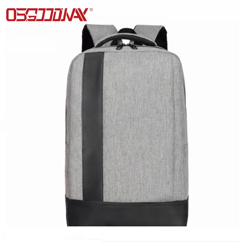 Osgoodway New Professional Water-repellent Fabric Custom School Backpack for Business Travel Laptop Computer