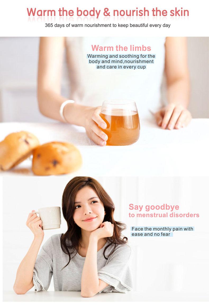 OEM instant collagen brown sugar moringa ginger tea - 4uTea | 4uTea.com
