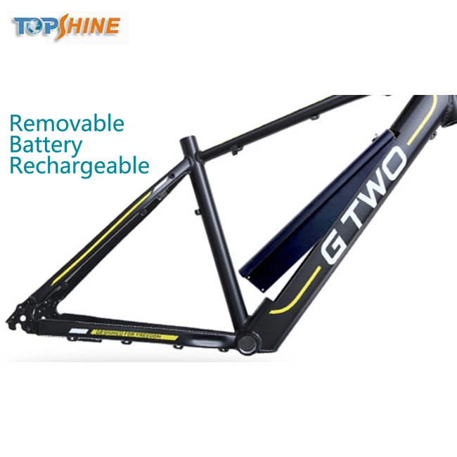 "Removable Battery 26"" Mountain Ebike with Stereo Speaker GPS LCD"