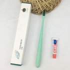 Hotel Daily Used Adult Cylinder Handle Cleaning Exporting Toothbrush