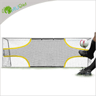 Portable Soccer Goal YumuQ 6.5' X 18.5' Portable Foldable Soccer Training Target Goal Soccer Training Aide For Scoring And Finishing