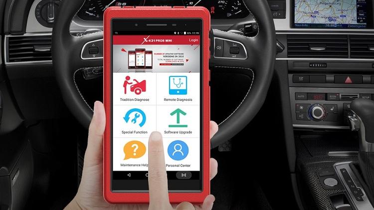 Original Launch obd2 X431 Pros mini pro mini Auto Car Diagnostic Scanner for All Cars