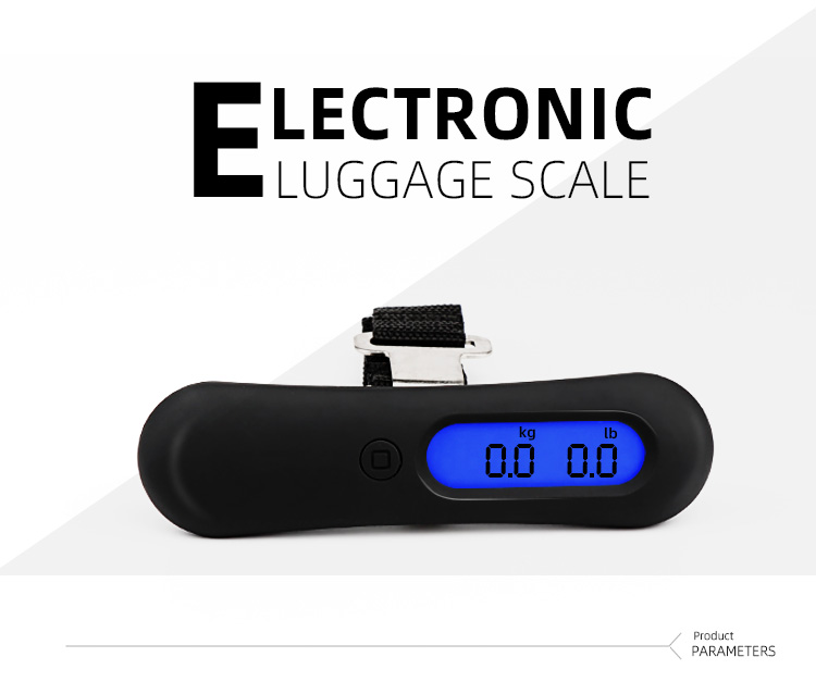 Pocket  Digital Weighing Scales 50Kg Luggage Scale for Travel