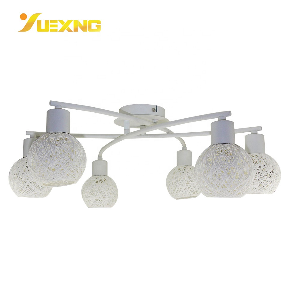 Vine Ball Shape Custom Metal Lamp  Home Decor  E14 Socket Lantern Spot Light Ceiling