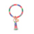 2020 popular PU leather keychain tassel Key ring for women and lady