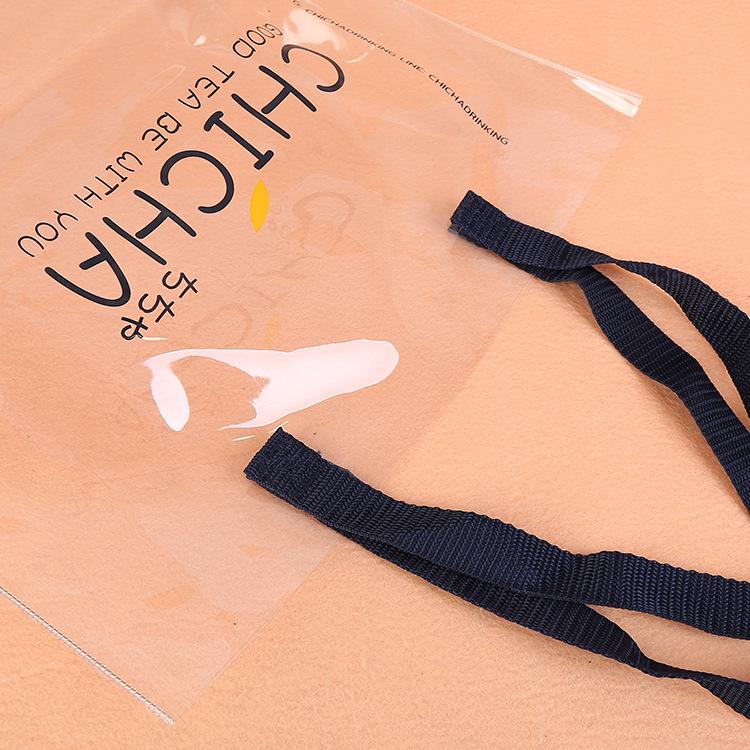 العرف موضة مقاوم للماء حقيبة الهولوغرام البلاستيكية واضحة شفافة حقيبة مستحضرات تجميل من البلاستيك