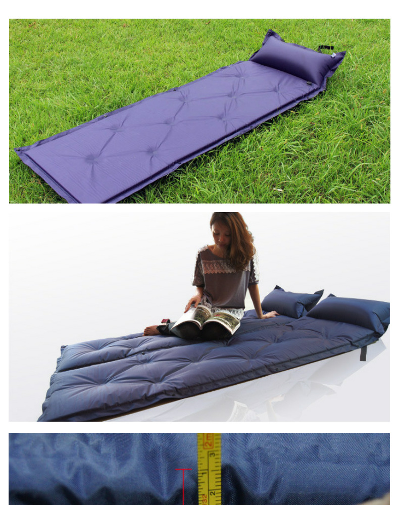 ultralight self inflating inflatable camping sleeping mat pad