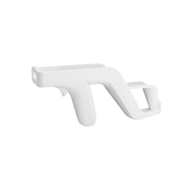 Nuevos productos de venta caliente controlador remoto tiroteo blanca para Nintendo Wii Zapper disparar juegos pistola de luz