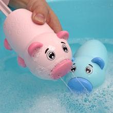 2020 Новое поступление детская летняя розовая Копилка водный пистолет игровая игрушка летняя уличная игрушка для плавания Накачка легкий по...(Китай)