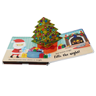 Cardboard Quality Children Books Child Book Custom High Quality Learning Children Designing Kid Christmas Books